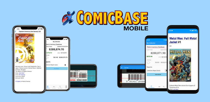 ComicBase Mobile for iOS and Android
