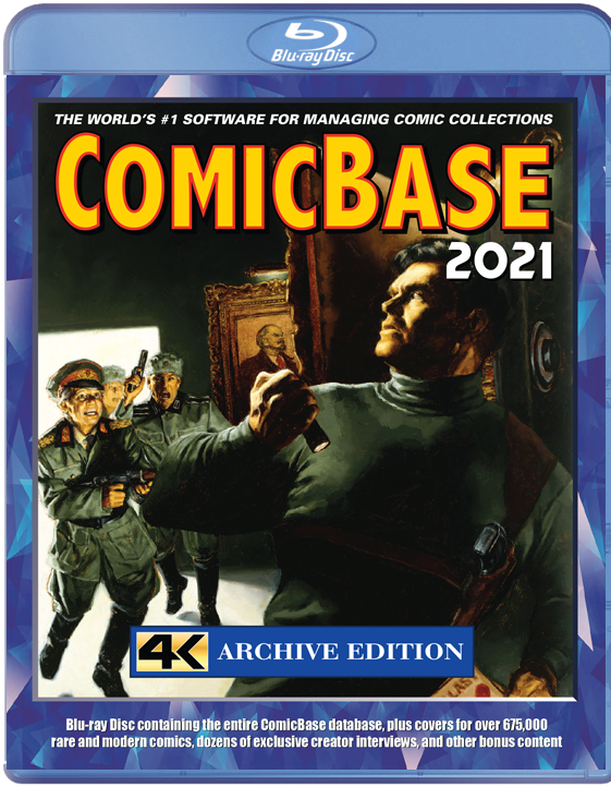 ComicBase 2021 4K Archive Edition